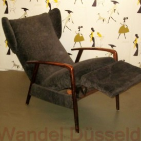 Sessel 3 4 wandel antik for Ohrensessel 50er 60er