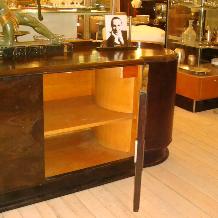 01645 art deco sideboard von jindrich halabala wandel. Black Bedroom Furniture Sets. Home Design Ideas