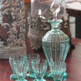 wandel-antik-02266-art-deco-karaffe-mit-5-gläser