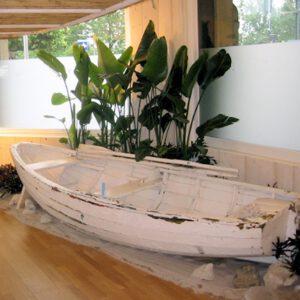wandel-antik-01055-altes ruderboot