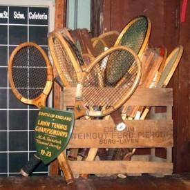 wandel-antik-01057-alte tennisschläger