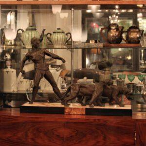 wandel-antik-01186-art deco bronze