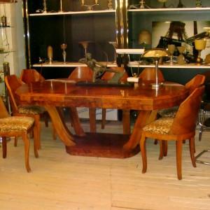 wandel-antik-01117-gondeltisch-mit-8-stühlen