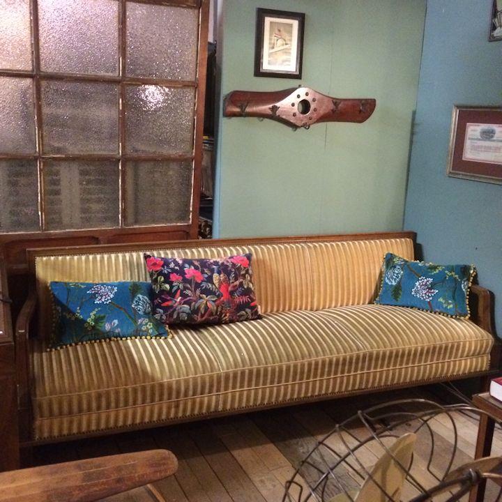 01379 50er jahre sofa mit 3 sesseln wandel antik. Black Bedroom Furniture Sets. Home Design Ideas