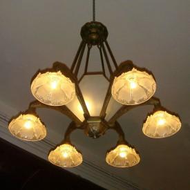 wandel-antik-01392-sechseckige-messinglampe