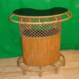 wandel-antik-01552-bambusbar-mit-schwarzer-resopalplatte