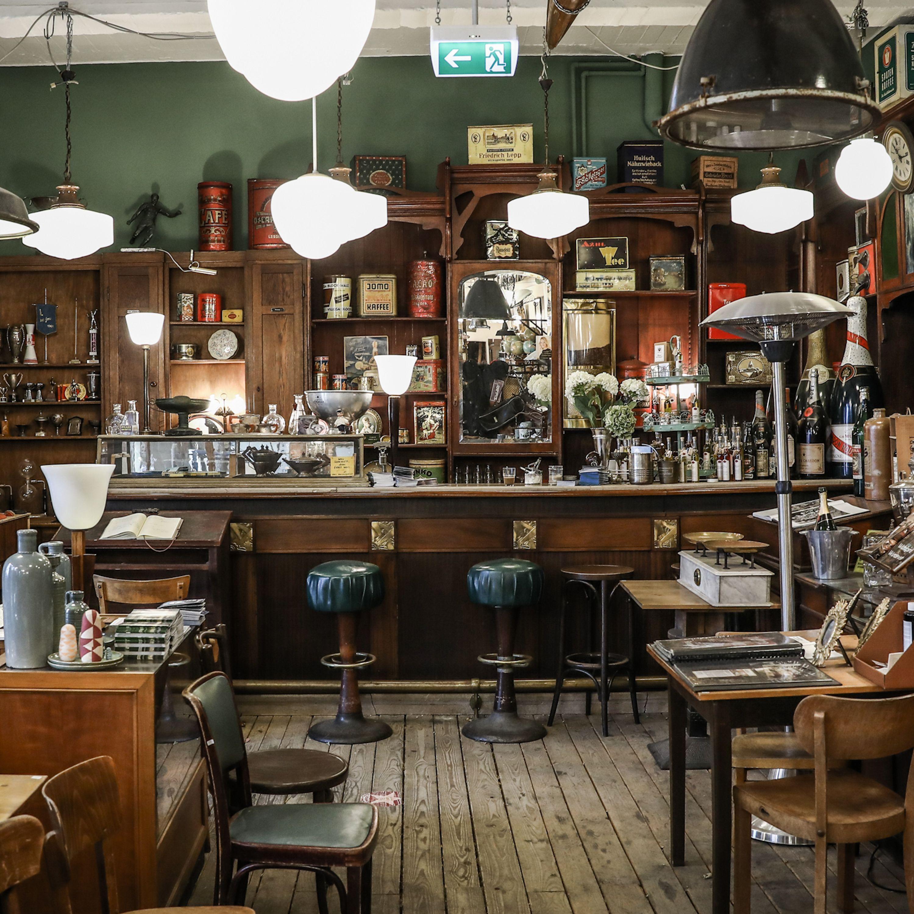 01663 - Art Deco Bar - Wandel Antik
