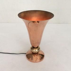 wandel-antik-01699-kupferkelch-tischlampe