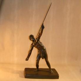 wandel-antik-01801-chiparus-skulptur-speerwerfer