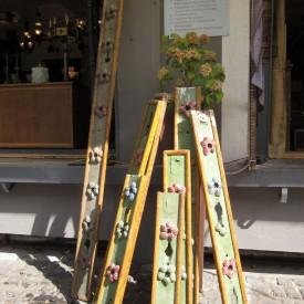 wandel-antik-02343-außenbeleuchtung kirmes wagen