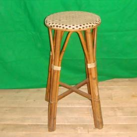 wandel-antik-02599-bambushocker-braun-weiss