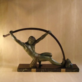 wandel-antik-02622-chiparus-athlet-beim-bogenbiegen