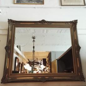 wandel-antik-02902-großer-goldener-spiegel