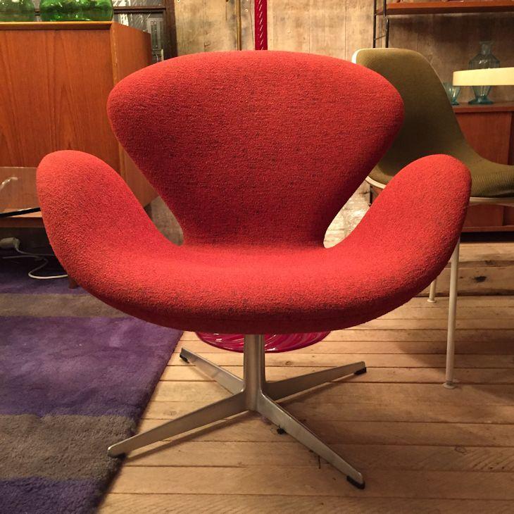 arne jacobsen fritz hansen chair 39 schwan 39 wandel antik. Black Bedroom Furniture Sets. Home Design Ideas