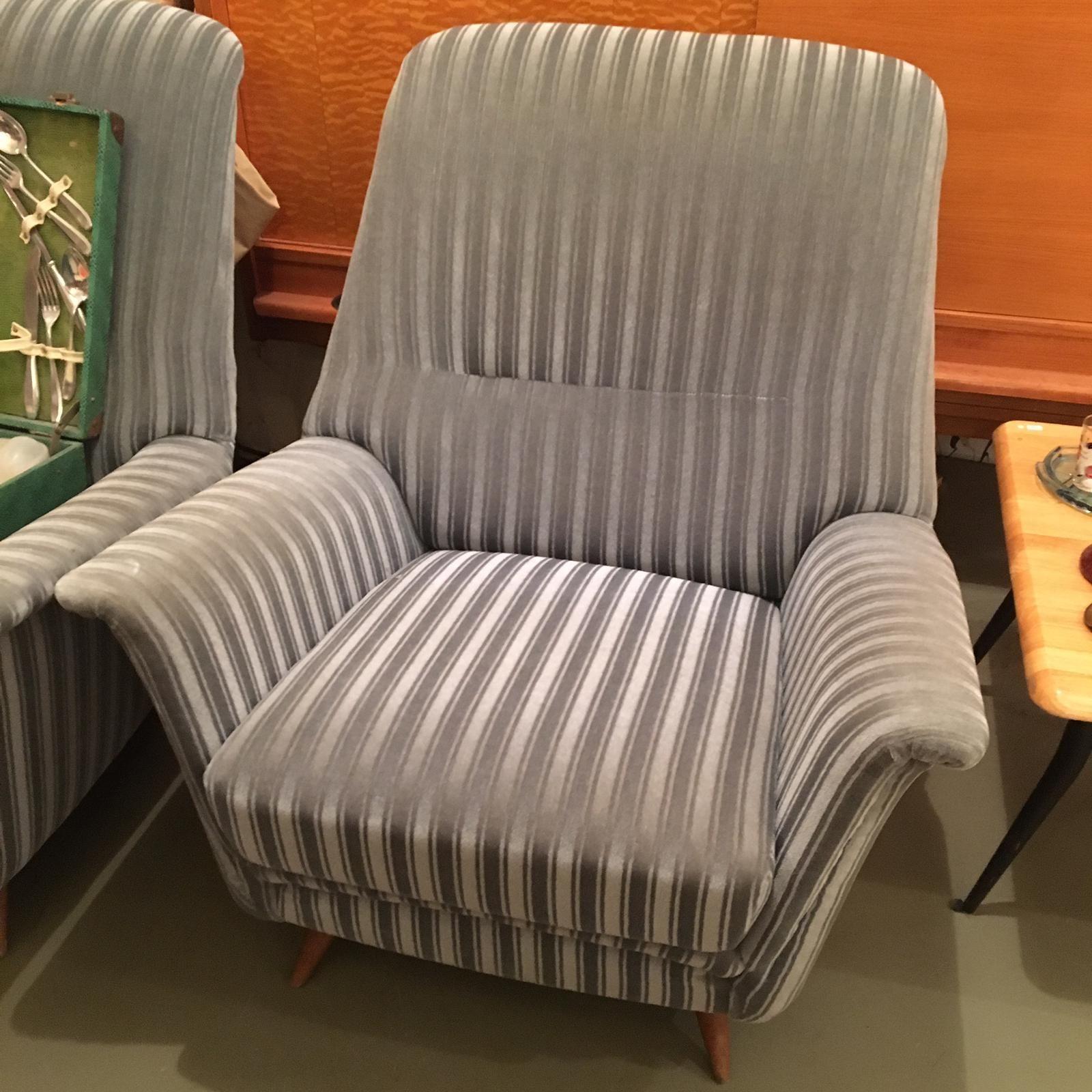 Paar 50er Jahre Sessel Wandel Antik