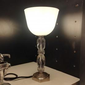 wandel-antik-03152-Tischlampe-mit-glasschaft