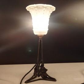 wandel-antik-03153-tischlampe-mit-weinblättern
