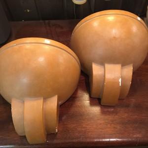 03371 - Wandlampen aus Gips