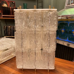 03492-Wandlampen aus Eisglas