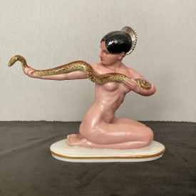 wandel-antik-03583-porzellanfigur-schlangenbeschwörerin